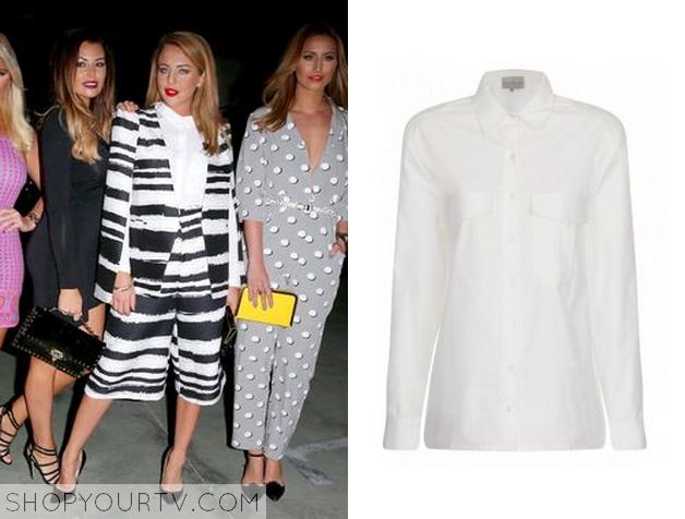 lydia white shirt