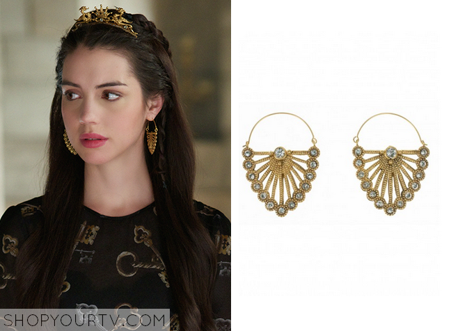 mary cold earrings