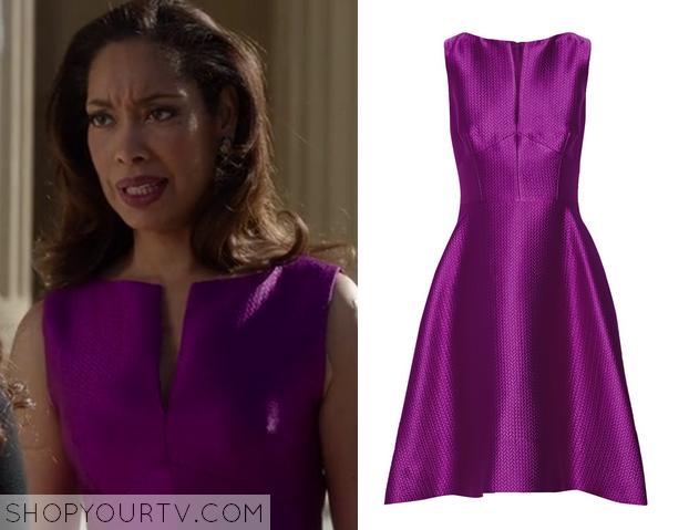 natalie purple dress