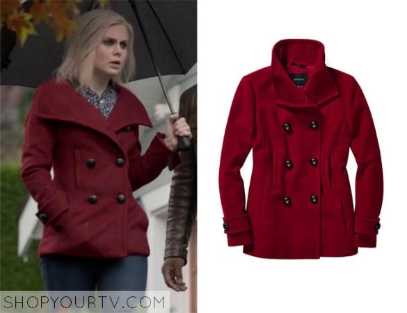 iZombie: Season 1 episode 7 Liv's red pea coat   Shop Your TV
