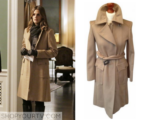 beckett beige coat