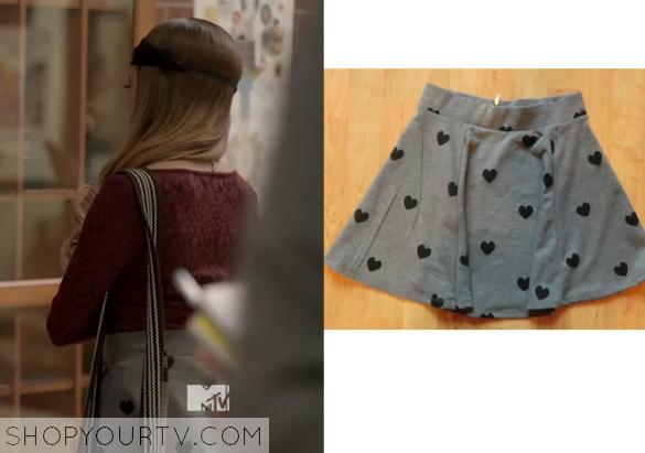 bird heart skirt