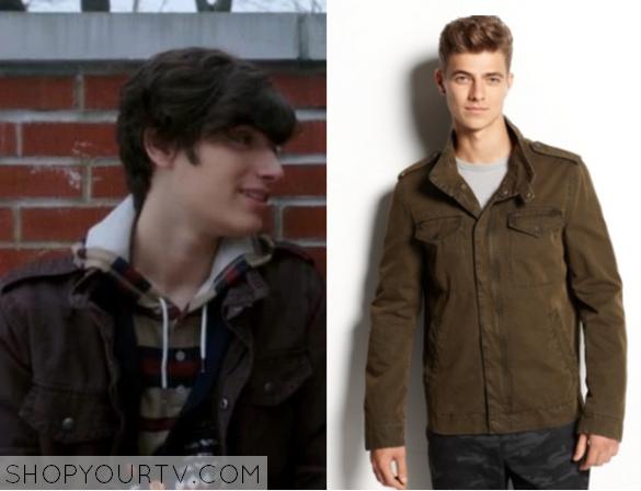Nurse Jackie: Season 6 Tommy&39s Brown Military Style Jacket |