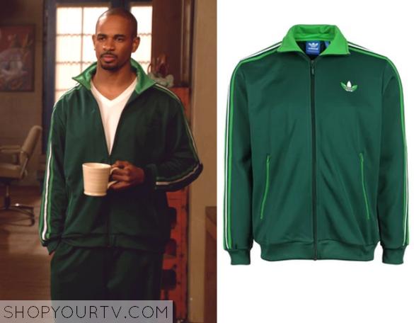 coach green striped jacket