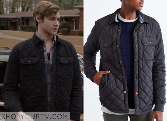 Finding Carter: Season 2 Episode 3 Crash's Quilted Shirt Jacket ...
