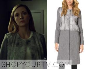 Orphan Black: Season 3 Episode 1 Delphine's Grey Fur Coat