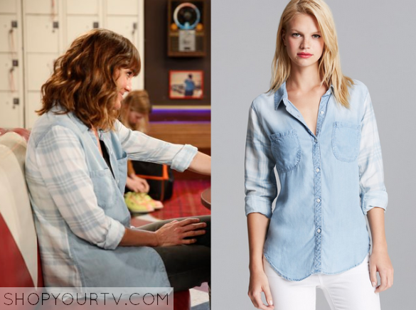 kate chrambray denim shirt