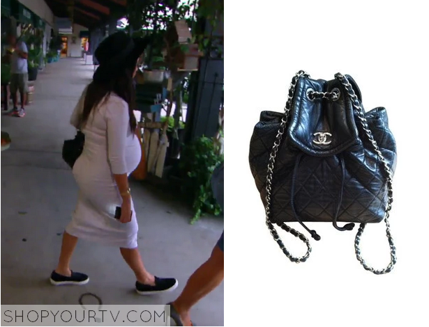 ec35981133b8 kourtney leather quilted bag. It is the Chanel CC Lambskin Backpack. Sold  Out.