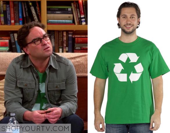 leonard green recycle t shirt