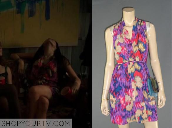 mandy print dress