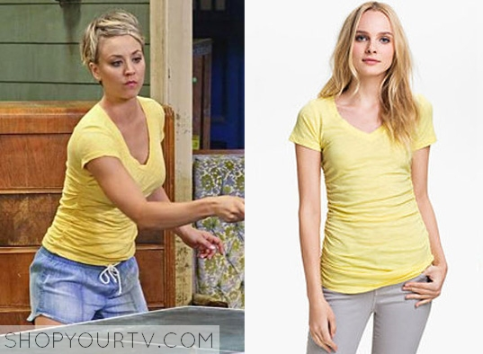 the big bang theory season 8 episode 19 penny�s vneck
