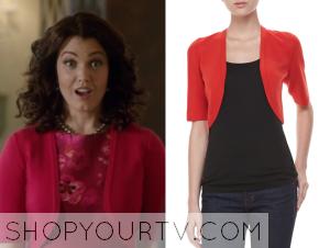 Scandal: Season 4 Episode 18 Mellie's Red Cardigan