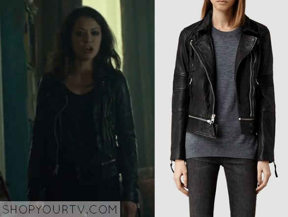 Orphan Black: Season 3 Episode 1 Sarah's Black Leather ...