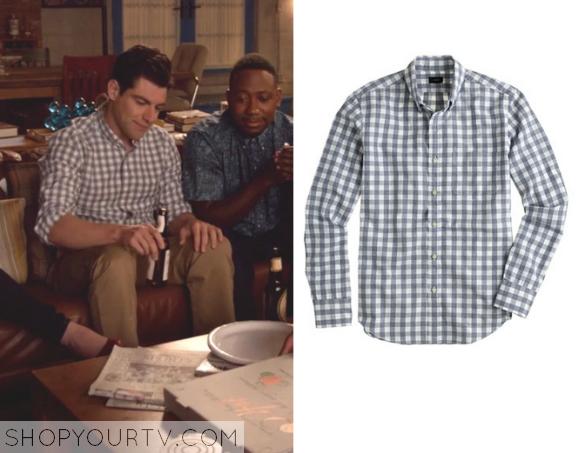 schmidt check shirt