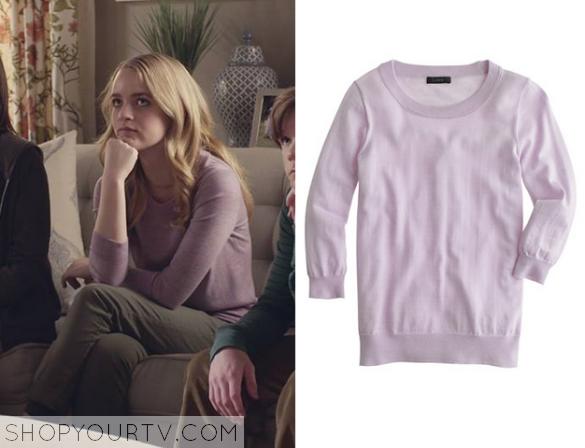 taylor purple sweater