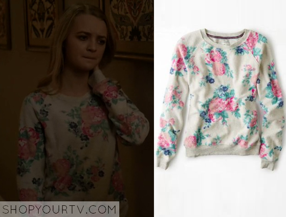 taylors floral sweater
