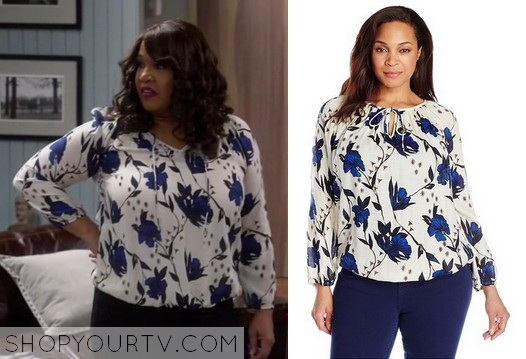 Young & Hungry Yolanda blouse
