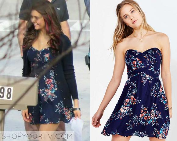 elena floral dress