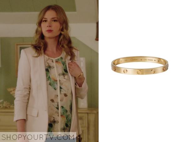 emily gold bracelet