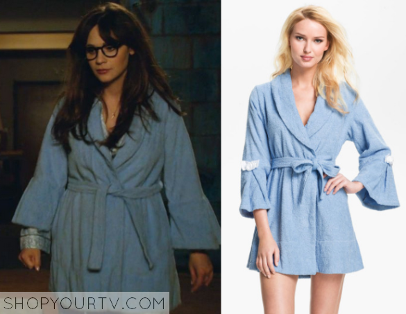 jess blue robe