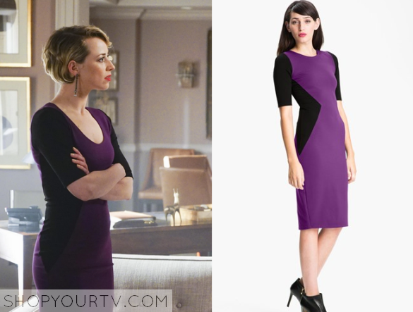 margeux purple dress