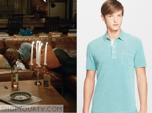 winston blue collar shirt