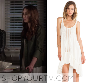 Pretty Little Liars: Season 6 Episode 5 Spencer's Crochet Lace Dress