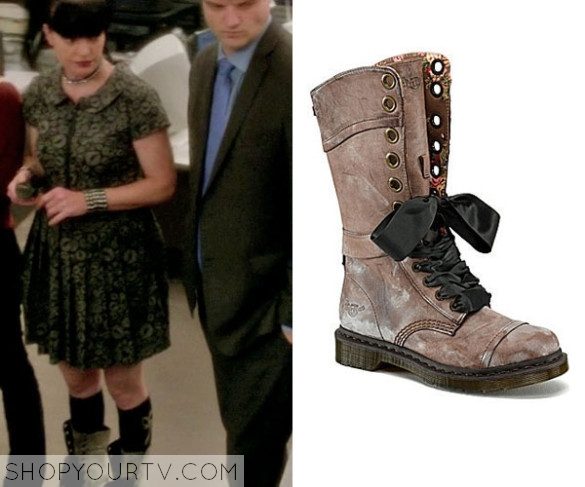 Ncis Season 10 Episode 17 Abby S Brown Combat Boots