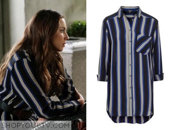 PLL Spencer oversized shirt