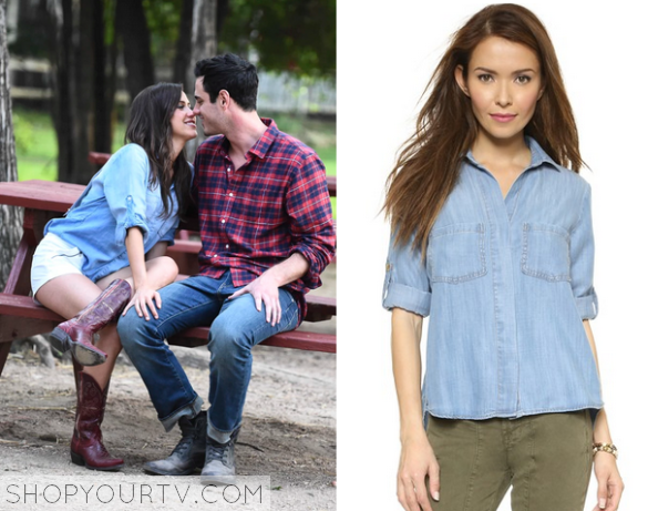 The Bachelorette Season 11 Episode 6 Kaitlyns Blue Chambray