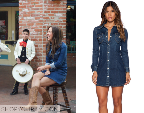 The Bachelorette Season 11 Episode 6 Kaitlyns Denim Button Front