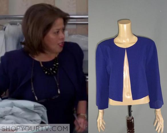 gloria blue jacket