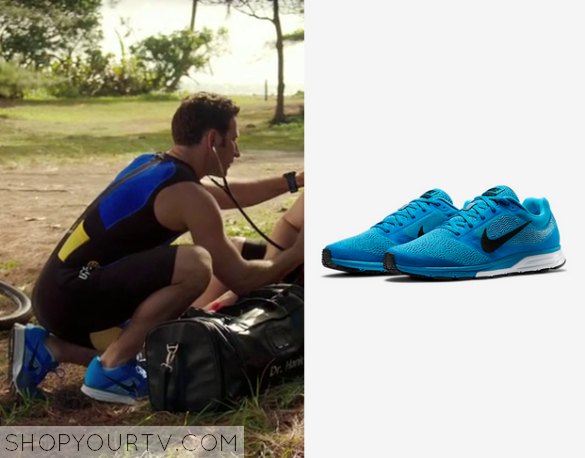 hank blue sneakers
