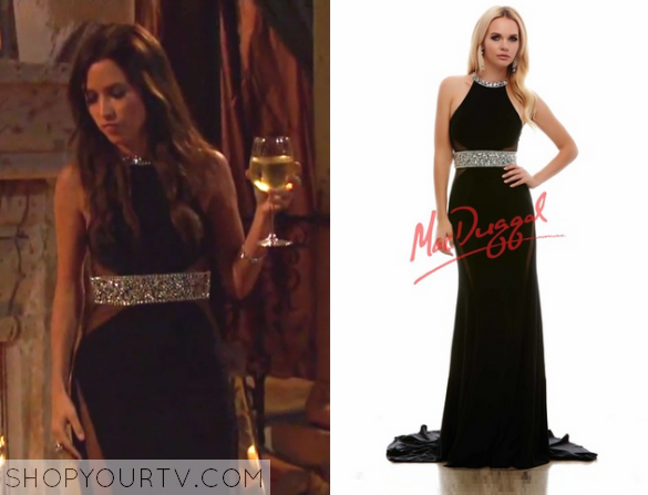 Kaitlyn Embellished Waist Gown
