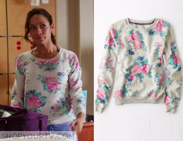 rosie floral print sweater