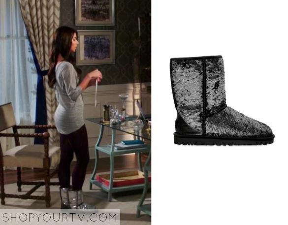 e4167fe70f3 Devious Maids: Season 3 Episode 2 Carmen's Sequin Boot | Shop Your TV