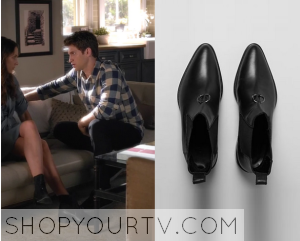 Pretty Little Liars: Season 6 Episode 3 Spencer's Black Leather Boots