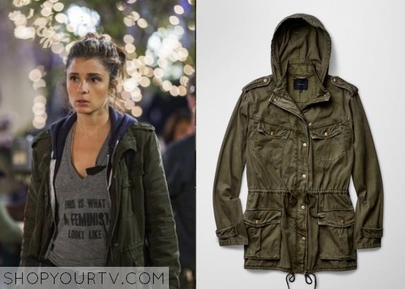 1x1 UnReal Anorak Green Rachel jacket