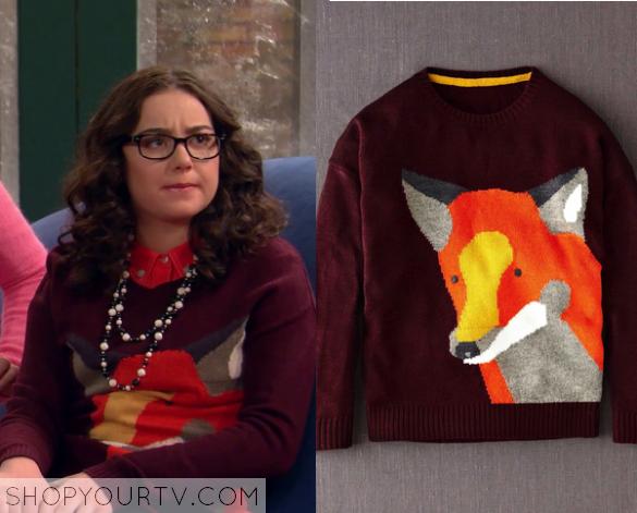 2x10 I Didn't Do It Fox Sweater Delia