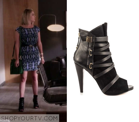 6x08 PLL Hanna Marin Ankle Boots