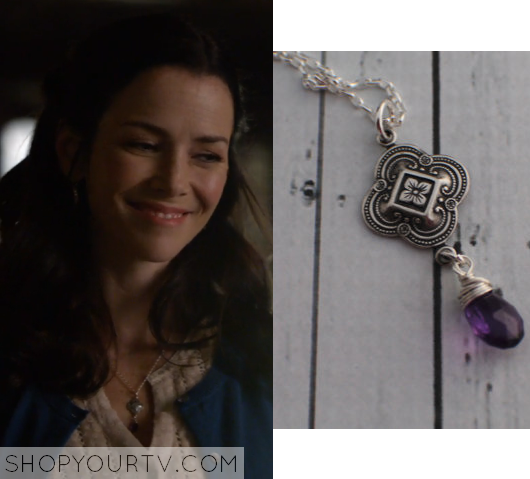 6x18 Lilys Stone Necklace
