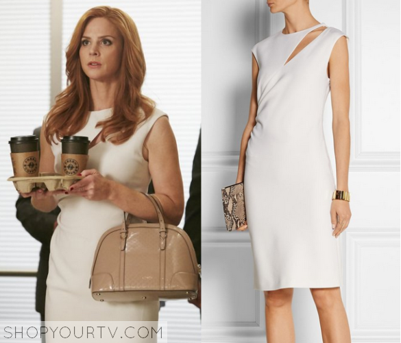 Suits 5x2 Donna's White Dress