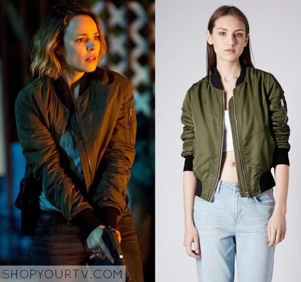 True Detective: Season 2 Episode 3 Ani's Green Bomber Jacket | Shop