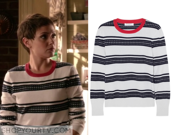 2x05 Chasing Life April Carver's Striped Sweater