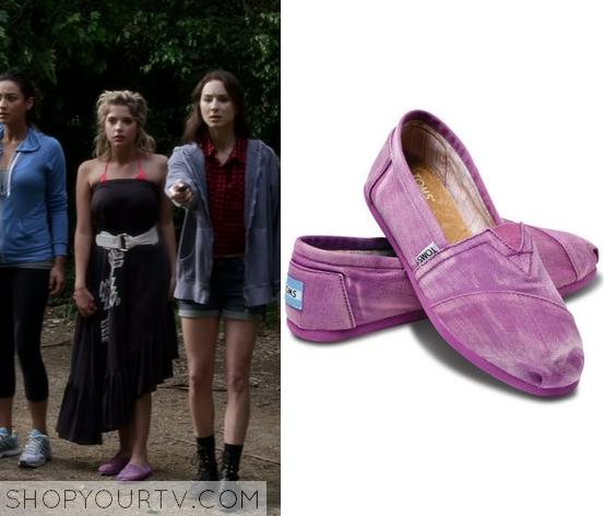 3x1 PLL Hanna Marin Purple Slip On Shoe
