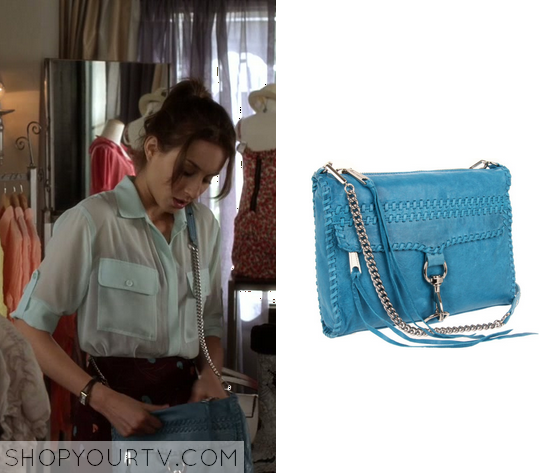 3x1 PLL Spencer Hastings Blue Clutch Bag