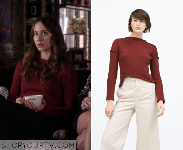 6x09 PLL Spencer Hastings Knitted Sweater
