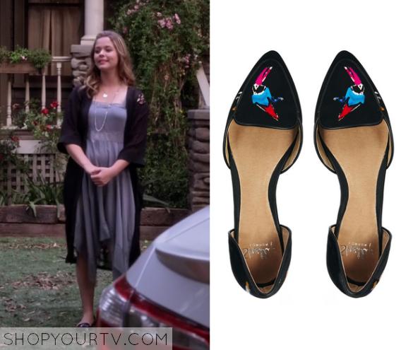 6x10 PLL Alison Slip on bird shoes