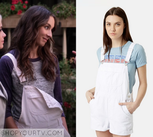 6x10 PLL Spencer Hastings TopShop Dungarees