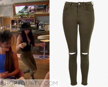 Paige kaki pants